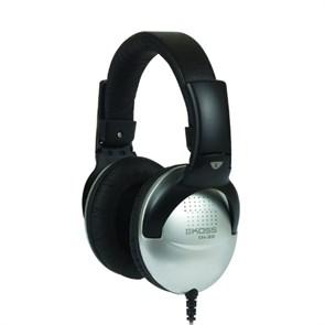 Наушники Koss UR29 Mixjockey (оголовье, закрытые, серые, 18Гц-20кГц, 100Ом, 101 дБ/мВт, 3,5 + 6,3 мм, кабель 2,4 м)