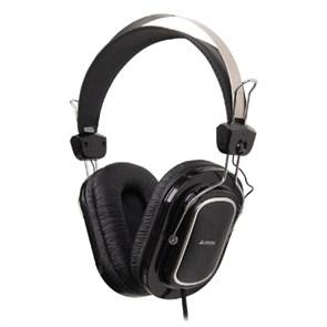 Гарнитура A4Tech HU-200 (оголовье, 20Гц-20кГц, 32Ом, 97дБ, USB, кабель 2м)