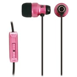 Koss KE29P (внутриканальные, розовые, 15Гц-20кГц, 16Ом, 100 дБ/мВт, 3.5мм, кабель 1,2 м, рег. громк.)