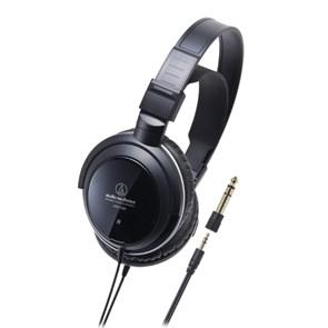 Наушники Audio-Technica ATH-T300 (оголовье, закрытые, чёрные, 18Гц-22кГц, 40Ом, 104 дБ/мВт, 3.5мм, кабель 3 м)
