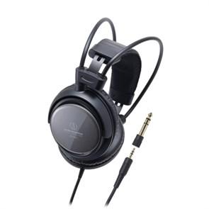 Наушники Audio-Technica ATH-T400 (оголовье, закрытые, чёрные, 15Гц-23кГц, 40Ом, 105 дБ/мВт, 3,5 + 6,3 мм, кабель 3 м)