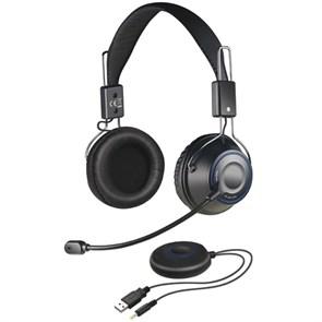 Гарнитура Creative HS 1200 (оголовье, 40Гц-20кГц, 32Ом, 105 дБ/мВт, USB, беспроводная)