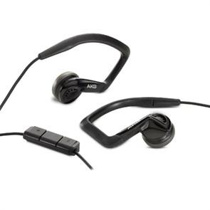 Гарнитура AKG K 326 (для Apple IPhone, вкладыши-клипсы, 17Гц-23кГц, 32Ом, 126дБ, 3,5 мм, кабель 1,2м)