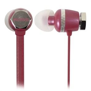 Наушники Koss RUK30R (внутриканальные, красные, 15Гц-20кГц, 16Ом, 110 дБ/мВт, 3.5мм, кабель 1,2 м)