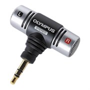 Микрофон Olympus ME51S, 100-15000Гц, 2.2кОм, стерео, -48 дБ/1кГц, 3.5мм