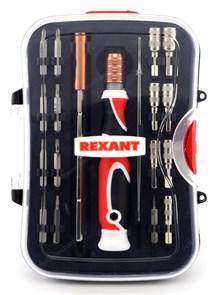 Набор отверток 19 предметов Rexant (12-4771)