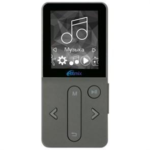 "Ritmix RF-4910 (Dark Gray, 4GB, MP3/WMA/FLAC/APE/AVI, 1.8"", FM, microSD, шагомер)"