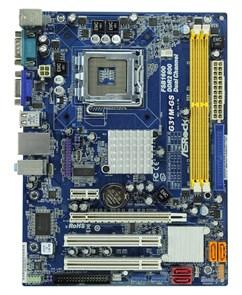 Socket 775 ASRock G31M-GS R2 (G31, PCI-E, 2xDDR2, VGA, 4xSATA, IDE, FDD, GLAN, mATX)
