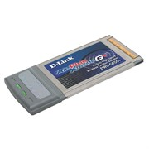 Беспроводной адаптер D-Link DWL-G650+ Wi-Fi PCMCIA 802.11g (54Mbps), CardBus