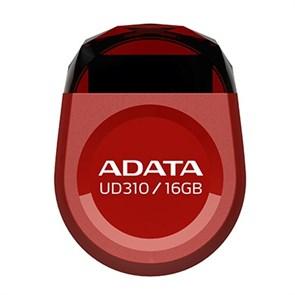 USB 2.0 Flash Drive 16GB ADATA AUD310-16G-RRD, красный, миниатюрный (AUD310-16G-RRD)