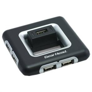 USB 2.0 Hub 7 port (с дополнительным питанием) Gearhead UH7200BLKR