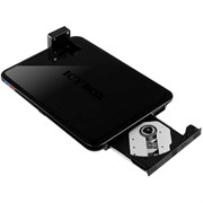"""Подставка для нетбука 10"""" RaidSonic Icy Box (int.DVDRW, 2xUSB, HDD 2.5"""" dock) (IB-DK210-OD)"""