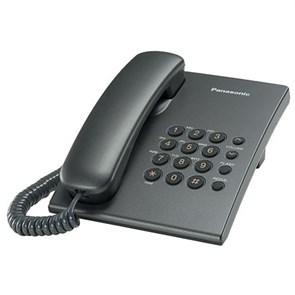 Телефон Panasonic KX-TS2350RUT (темно-серый)
