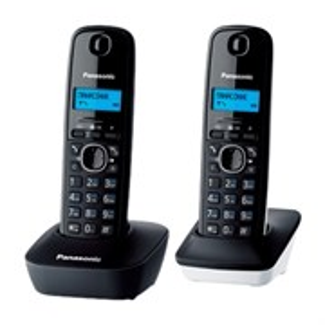 Р/Телефон DECT Panasonic KX-TG1612RU1 (2 трубки, черный)