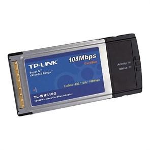 Беспроводной адаптер TP-Link TL-WN610G Wi-Fi PCMCIA 802.11g (108Mbps), CardBus