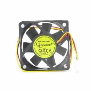 Вентилятор 60х60x15мм питание от мат.платы, управляемый