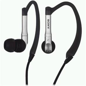 Наушники Sony MDR-EX81SL/B (внутриканальные клипсы, чёрные, 5Гц-23кГц, 16Ом, 100 дБ/мВт, 3.5мм, кабель 0,5 + 1м)