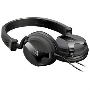 Наушники AKG K 518 DJ (оголовье, закрытые, чёрные, 16Гц-24кГц, 32Ом, 115дБ, 3.5мм, кабель 2,5 м)