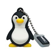 USB 2.0 Flash Drive 8GB Emtec The Aquarium M314, Фигурка Penguin (пингвин)