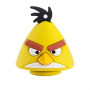 USB 2.0 Flash Drive 8GB Emtec Angry Birds A102, Фигурка Yellow Bird (EKMMD8GA102)