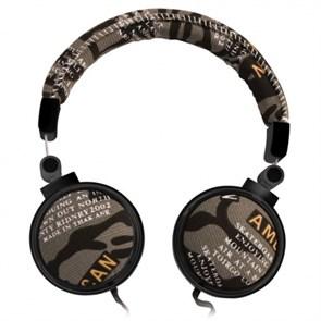 Наушники Ritmix RH-580 Texture Grey (оголовье, закрытые, серые, 18Гц-20кГц, 32Ом, 110 дБ/мВт, 3.5мм, кабель 1,5 м)