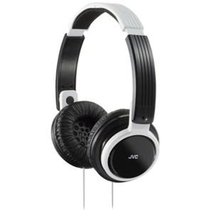 Наушники JVC HA-S200-W-EF белые (оголовье, закрытые, белые, 10Гц-22кГц, 32Ом, 107 дБ/мВт, 3.5мм, кабель 1,2 м)