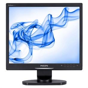 """LCD 17"""" Philips 17S1SB/62 Black (5:4, 43см, 1280x1024, 250кд, 5ms, 176°/170°)"""