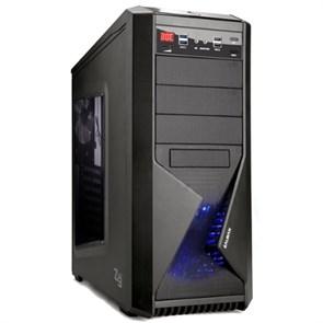 ATX Zalman Z9 U3 (BLACK, 4*120mm, панель рег., USB 3.0, с окном, без блока питания)