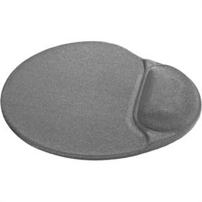 Коврик для мыши с гелевой подушкой Defender Easy Work серый, лайкра, 260х225х5мм (50915)