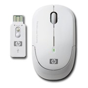 Мышь беспров. HP Wireless Laser Mini Mouse, White, USB (KM407AA)