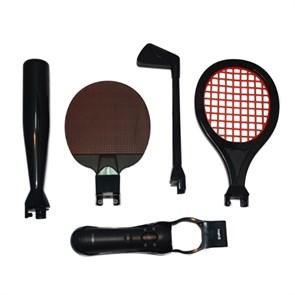 PS3 Move Набор Насадок (Sports Pack) (теннис, бейсбол, гольф), Logic3 (PSM935)