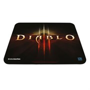 Коврик для мыши Steelseries QcK mini Diablo III Logo Edition, 250x210мм (67226)