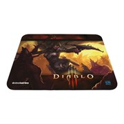 Коврик для мыши Steelseries QcK Diablo III Demon Hunter Edition 320x270мм (67227)