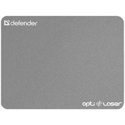 Коврик для мыши Defender Ergo Optic Laser Silver (пластик) 220х180х0.4мм (50410)