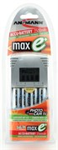 Зарядное устройство ANSMANN PhotoCam IV+ 4аккум. maxE AA2500(Ni-MH), контроль заряда