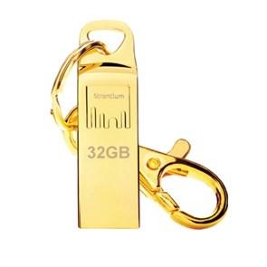 USB 2.0 Flash Drive 32GB Strontium DRIVE AMMO золото (SR32GGDAMMO)