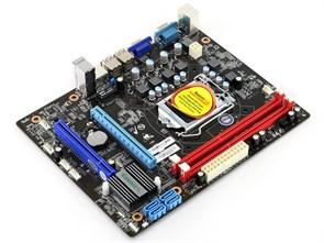 Socket 1156 Esonic H55KBL (iH55, 2xDDR3, 4xSATA, VGA, 5.1, LAN, mATX)