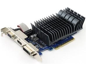 PCI-E x16 GF GT 710 ASUS GT710-2-SL 2GB DDR3, SILENT (RTL)