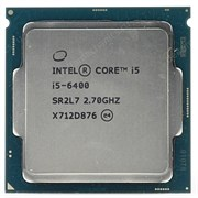 Intel Core i5-6400 6Мб, 2.7-3.3ГГц, Intel® HD Graphics 530, S1151, 65W, OEM