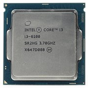Intel Core i3-6100 3МБ, 3.7ГГц, Intel® HD Graphics 530, S1151, 51W, OEM