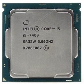 Intel Core i5-7400 6Мб, 3.0-3.5ГГц, Intel® HD Graphics 630, S1151, 65W, OEM