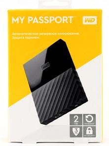 """USB 3.0 HDD 2.5"""" 2 TB WD My Passport™ Black (WDBUAX0020BBK-EEUE)"""