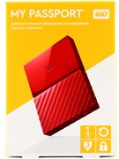 "USB 3.0 HDD 2.5"" 1 TB WD My Passport™ Red (WDBBEX0010BRD-EEUE)"