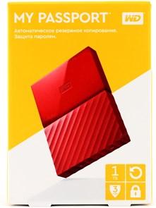 "USB 3.0 HDD 2.5"" 1 TB WD My Passport™ Red (WDBBEX0010BRD-EEUE)"