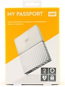 "USB 3.0 HDD 2.5"" 2 TB WD My Passport™ White (WDBUAX0020BWT-EEUE)"