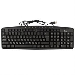 Клавиатура Ritmix RKB-141, BLACK, 9 м/мед клавиш, USB