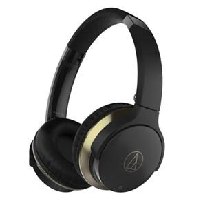 Гарнитура Audio-Technica ATH-AR3BTBK (Bluetooth v4.1, оголовье, складная, черная, до 30ч. работы)