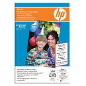Бумага HP A6 Q1991A Premium Photo Paper (глянцевая, 20л, 10x15см, 240 г/м2)