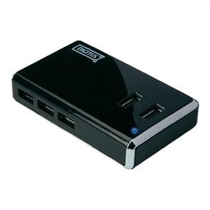 USB 2.0 Hub 10 port (с дополнительным питанием) Digitus DA-70228