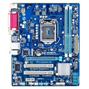 Socket 1155 GigaByte GA-H61M-S2PV (rev. 2.2) (iH61, 2xDDR3, 4xSATA, DVI/VGA, 7.1, LAN-G, mATX)